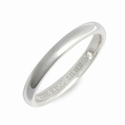 THE KISS ザ・キス リング 指輪 レディース シルバー ダイヤモンド 4月の誕生石 誕生日プレゼント ギフト