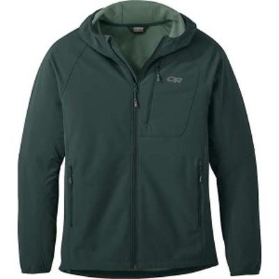 アウトドアリサーチ メンズ ジャケット・ブルゾン アウター Outdoor Research Men's Ferrosi Grid Hooded Jacket Fir