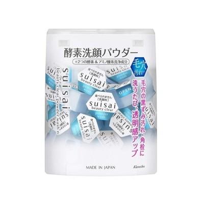 [カネボウ化粧品]suisai(スイサイ) ビューティクリアパウダーウォッシュ N 0.4g×32個入
