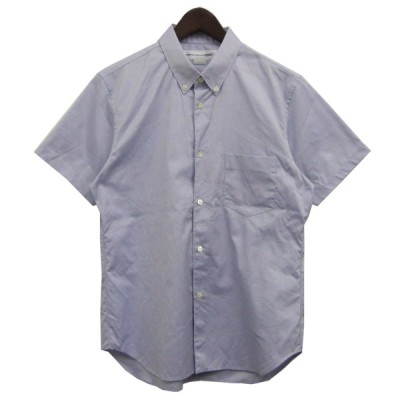 COMME des GARCONS SHIRT 胸ポケット半袖シャツ ブルー サイズ:M (渋谷神南店) 200314