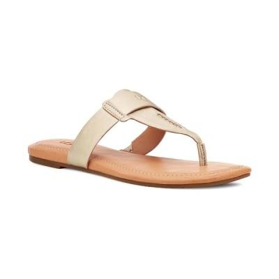 アグ サンダル シューズ レディース Women's Gaila Slip-On Sandals Gold Metallic