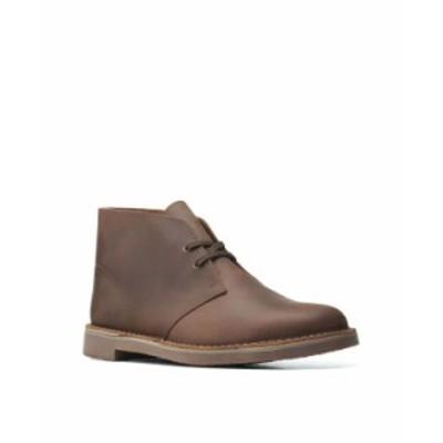 クラークス メンズ ブーツ・レインブーツ シューズ Men's Bushacre 3 Boots Dark Brown Leather