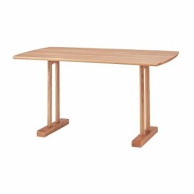 ダイニングテーブル 幅120×奥行75×高さ68 天然木 アッシュ 天然木化粧繊維板 アッシュ ウレタン塗装(代引不可)【送料無料】