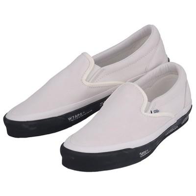 VANS x WTAPS バンズ x  ダブルタップス OG Classic Slip-On VN0A45JK20F オージー クラシック スリッポン スニーカー シューズ靴 ホワイト コラボ