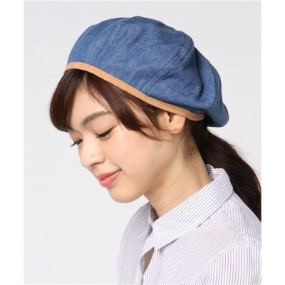帽子 ANDRAEANUM / DENIM FLAMINGO BERET