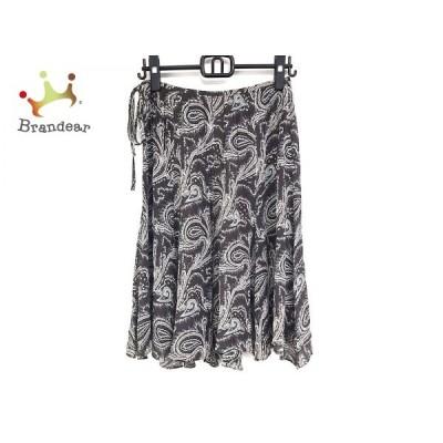 オールドイングランド OLD ENGLAND スカート サイズ38 M レディース 美品 - ひざ丈/ペイズリー柄   スペシャル特価 20200620