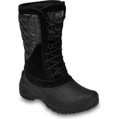 ザ ノースフェイス The North Face レディース ブーツ シューズ・靴 thermoball utility mid boots Shiny Black