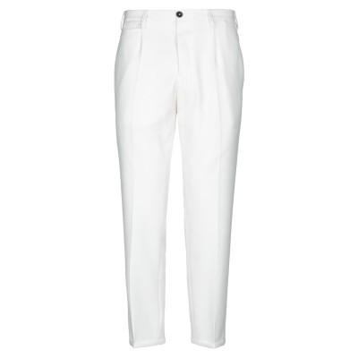 PT Torino パンツ ホワイト 34 ポリエステル 55% / バージンウール 45% パンツ