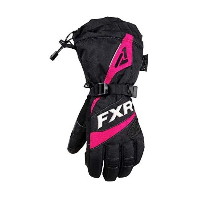 FXR - 2019 - Womens Fusion Gloves (Medium, Black/Fuchsia)【並行輸入品】