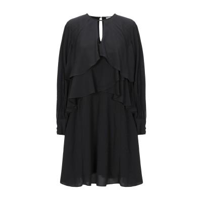 LE COEUR TWINSET ミニワンピース&ドレス ブラック XS ポリエステル 100% / ナイロン ミニワンピース&ドレス