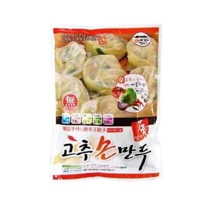 【2778】【チョンマル】手作り唐辛子肉マンドウ 420gx15個入 ■韓国食品■韓国食材■韓国おやつ ■韓国餃子■?