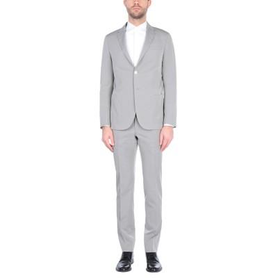TREND CORNELIANI スーツ ライトグレー 50 コットン 60% / シルク 40% スーツ