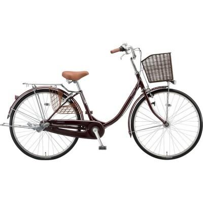 送料無料 ブリヂストン シティサイクル自転車 エブリッジ 変速なしモデル E40U1 F.Xカラメルブラウン