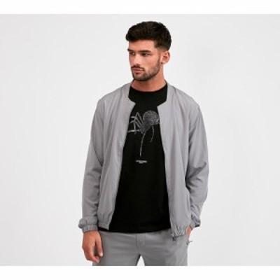 アレッサンドロ ザベッティ Alessandro Zavetti メンズ ブルゾン ミリタリージャケット アウター plinio bomber jacket Grey