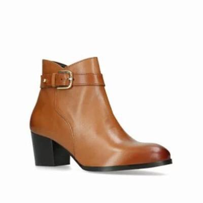 ナインウェスト ブーツ Calm Ankle Boots tan