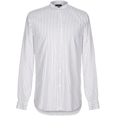 LIU •JO MAN シャツ ホワイト 44 コットン 100% シャツ