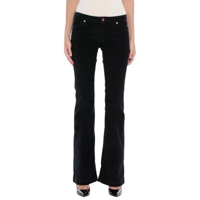 ロイ ロジャース ROŸ ROGER'S パンツ ブラック 25 コットン 98% / ポリウレタン 2% パンツ