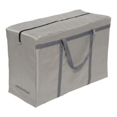 Sokaiwheel トートバッグ 大容量 ボストンバッグ 大容量 大型バッグ 大きいバッグ (グレー)