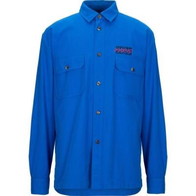 ケンゾー KENZO メンズ シャツ トップス solid color shirt Azure
