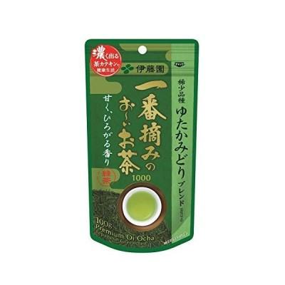 伊藤園 一番摘みのおーいお茶 1000 ゆたかみどり 100g リーフ