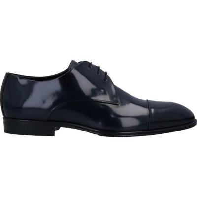 カヴァーニ CARVANI メンズ シューズ・靴 laced shoes Dark blue