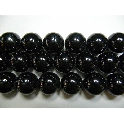 天然石20mm half-a2009 オニキス 半連 約18-20cm