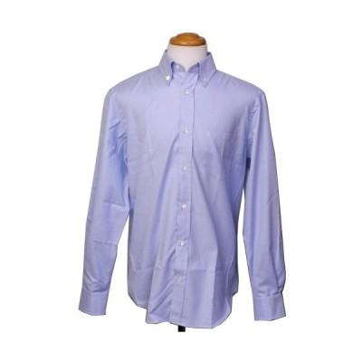 ランボルギーニ メンズ レギュラー フィット ボタンダウン シャツ ライトブルー 9109011CCU002