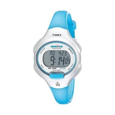 タイメックス アイロンマンエッセンシャル 10 Mサイズ腕時計 Turquoise/Silver-Tone【並行輸入品】