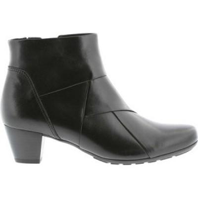 ガボール Gabor レディース ブーツ シューズ・靴 72-825 Bootie Black Leather