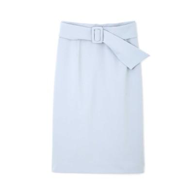 PINKY&DIANNE (ピンキーアンドダイアン) レディース サッシュベルト付きセットアップスカート ブルー(110) 36