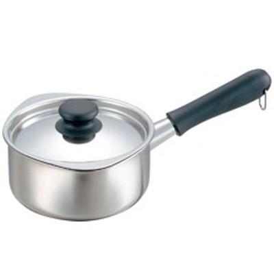 【片手鍋 16cm】YANAGISOURI 柳宗理 18-8 ミルクパン (蓋付き・ミラー仕上) 16cm キッチン用品