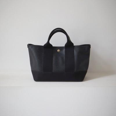 トプカピ ブレス TOPKAPI BREATH スコッチグレインネオレザー ミニトートバッグ(ブラック)