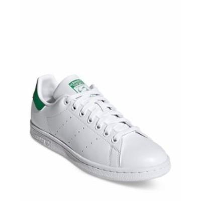 アディダス レディース スニーカー シューズ Women's Stan Smith Athletic Sneakers White/Green