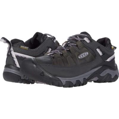 キーン KEEN レディース ハイキング・登山 シューズ・靴 Targhee III Waterproof Black/Thistle