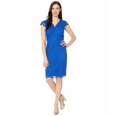 ラルフローレン レディース ワンピース トップス Bambina Cap Sleeve Day Dress Regal Sapphire