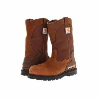 カーハート ブーツ 11 Bison Waterproof Work Boot Brown Oil Tan