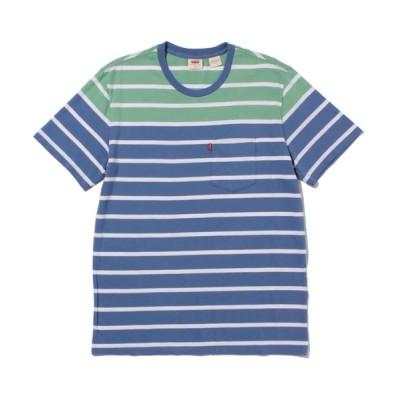 tシャツ Tシャツ SUNSET ポケットTシャツ FLYING HIGH STRIPE