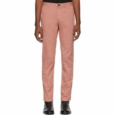 ポールスミス PS by Paul Smith メンズ チノパン ボトムス・パンツ pink chino mid fit trousers