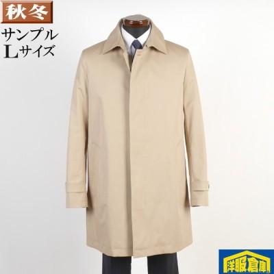 訳あり ステンカラー コート メンズ Lサイズ ライナー付き ビジネスコートSG-L 8000 bsc67081