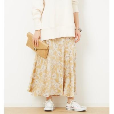 【ルージュ・ヴィフ ラクレ/Rouge vif la cle】 サラサフラワーマキシスカート