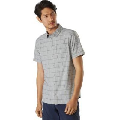 アークテリクス メンズ シャツ トップス Riel Short-Sleeve Button-Up Shirt Fibreglass