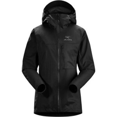 アークテリクス レディース ジャケット・ブルゾン アウター Squamish Hooded Jacket Black