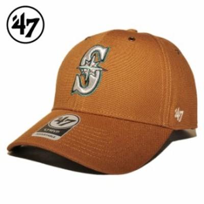 47ブランド カーハート コラボ ストラップバックキャップ 帽子 メンズ レディース 47BRAND CARHARTT MLB シアトル マリナーズ フリーサイ
