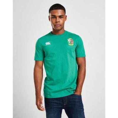 カンタベリー Canterbury メンズ Tシャツ トップス british & irish lions 2021 short sleeve t-shirt green