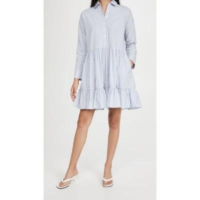 ティモ byTiMo レディース ワンピース シフトドレス ワンピース・ドレス Checks Shift Dress Blue Checks
