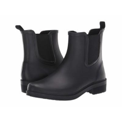 ジェイクルー レディース ブーツ&レインブーツ シューズ Chelsea Rain Boot Black