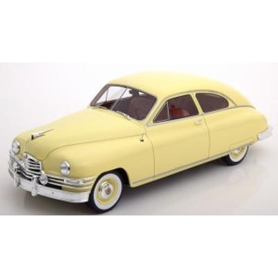 BoS 1:18 1949年モデル パッカード デラックス クラブ セダン イエロー
