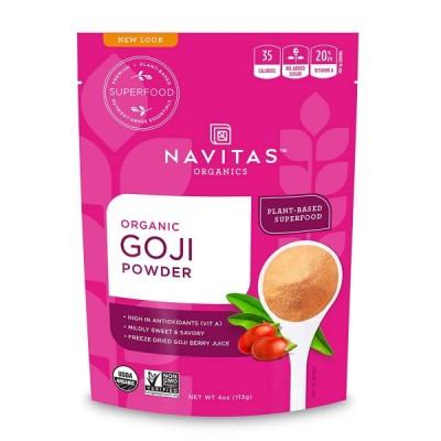 オーガニッククコの実パウダー Navitas Organics 82066 非GMO113g