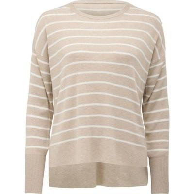 フォーエバーニュー Forever New レディース ニット・セーター トップス Taylor Stripe Lightweight Knit Jumper Soft Camel Stripe
