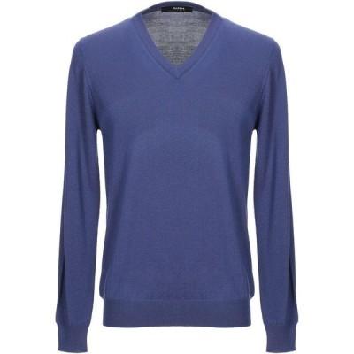 アルファス テューディオ ALPHA STUDIO メンズ ニット・セーター トップス sweater Light purple